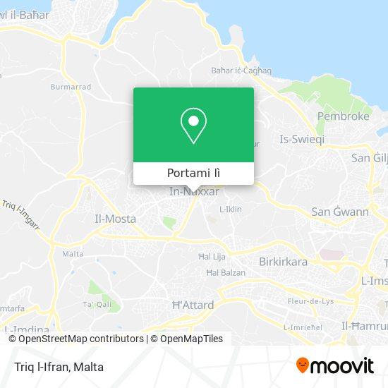 Mappa Triq l-Ifran