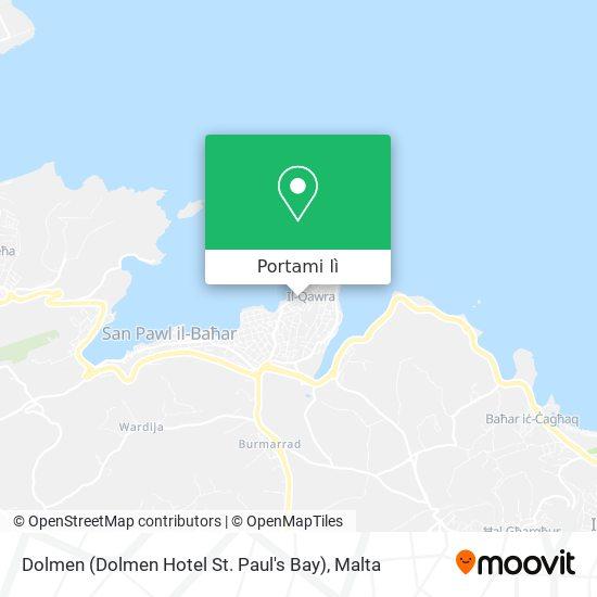 Mappa Dolmen (Dolmen Hotel St. Paul's Bay)