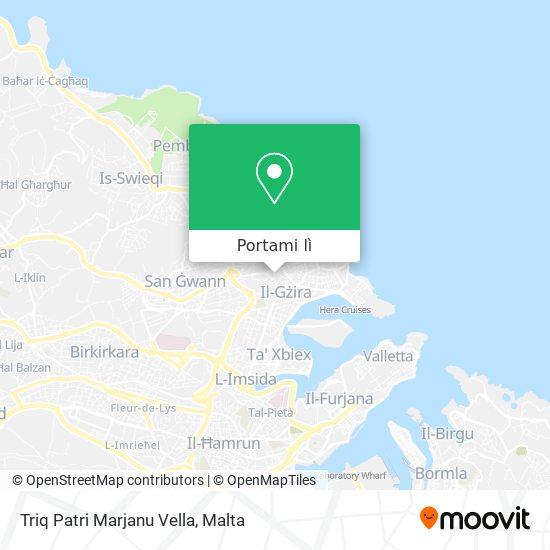 Mappa Triq Patri Marjanu Vella