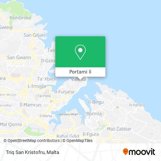 Mappa Triq San Kristofru