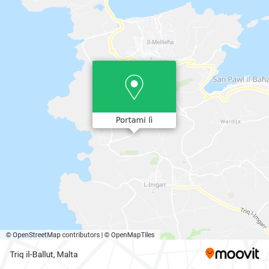 Mappa Triq il-Ballut