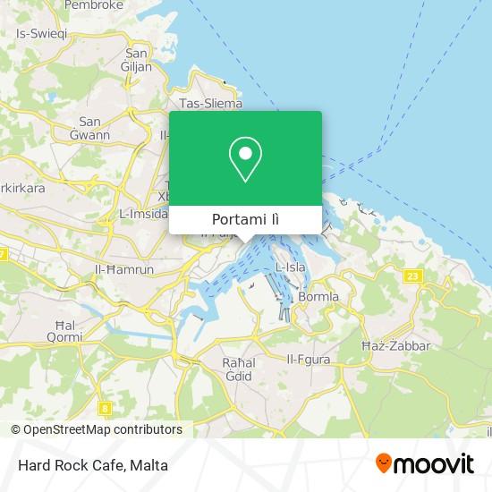 Mappa Hard Rock Cafe