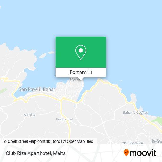 Mappa Club Riza Aparthotel