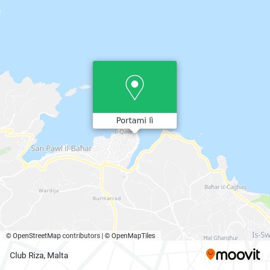 Mappa Club Riza