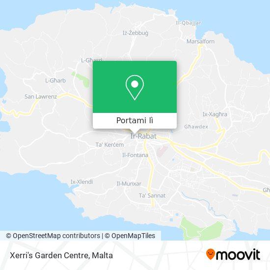 Mappa Xerri's Garden Centre