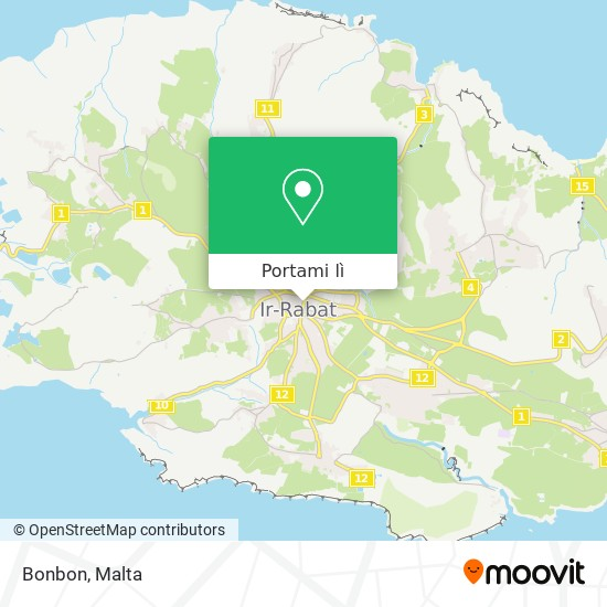 Mappa Bonbon