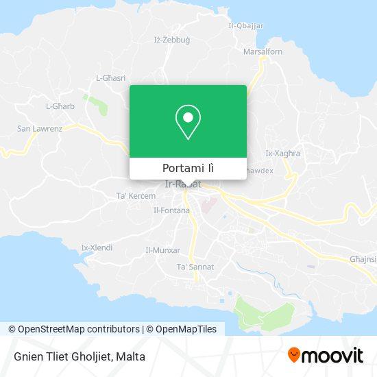 Mappa Gnien Tliet Gholjiet