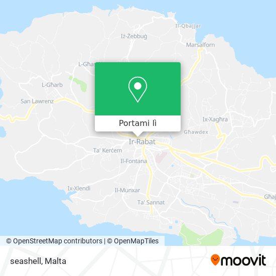 Mappa seashell
