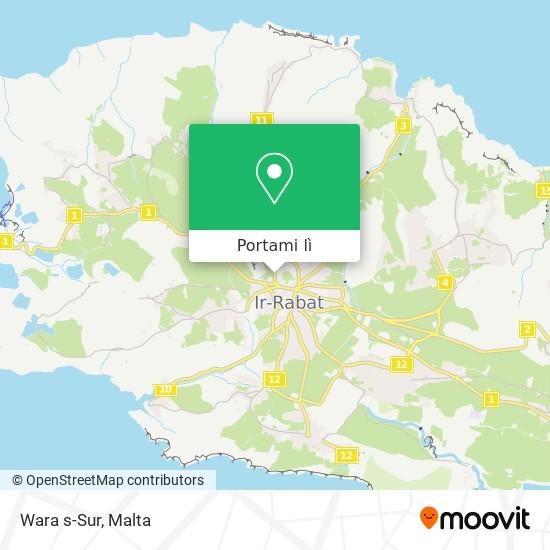 Mappa Wara s-Sur