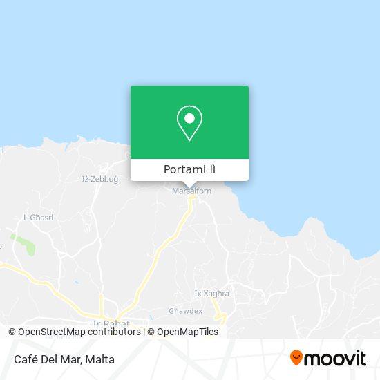 Mappa Café Del Mar