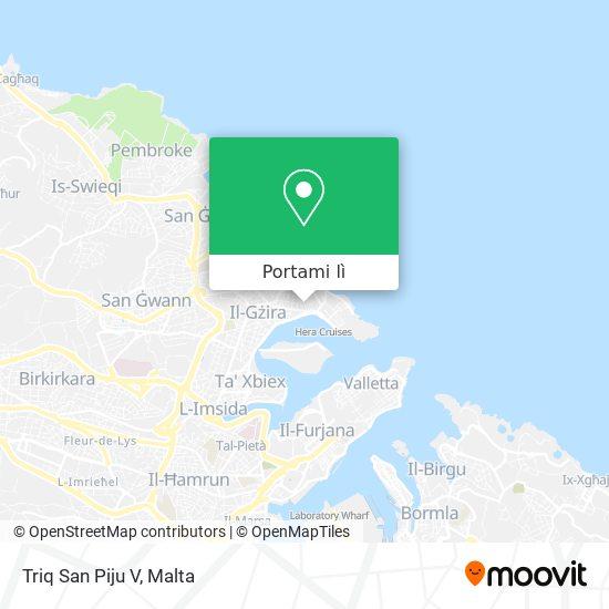 Mappa Triq San Piju V