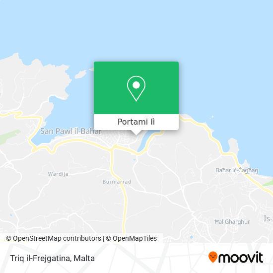 Mappa Triq il-Frejgatina