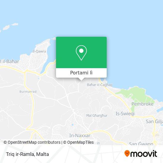 Mappa Triq ir-Ramla