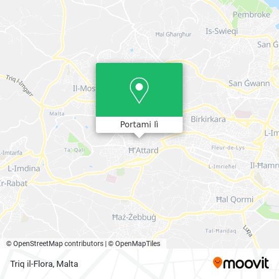 Mappa Triq il-Flora