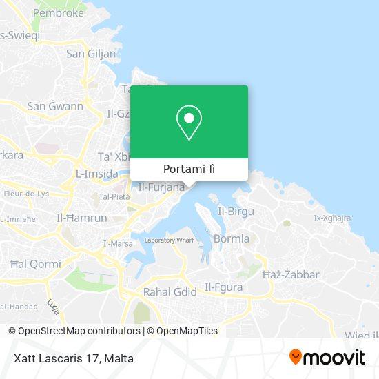 Mappa Xatt Lascaris 17