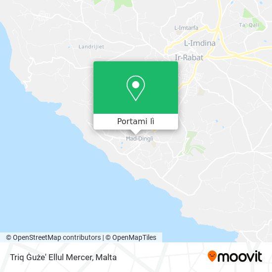 Mappa Triq Ġuże' Ellul Mercer