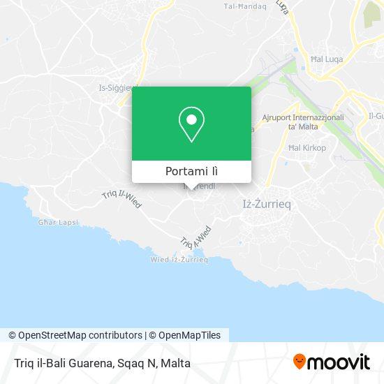 Mappa Triq il-Bali Guarena, Sqaq N