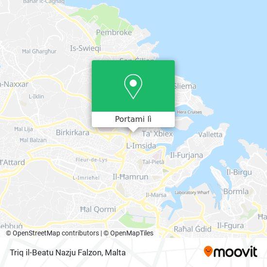 Mappa Triq il-Beatu Nazju Falzon