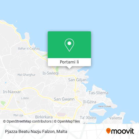 Mappa Pjazza Beatu Nazju Falzon