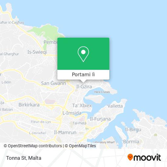 Mappa Tonna St