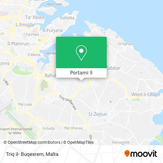 Mappa Triq il- Buqexrem