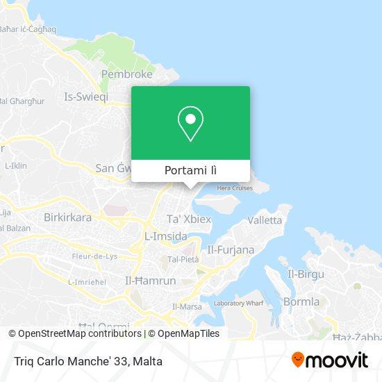 Mappa Triq Carlo Manche' 33