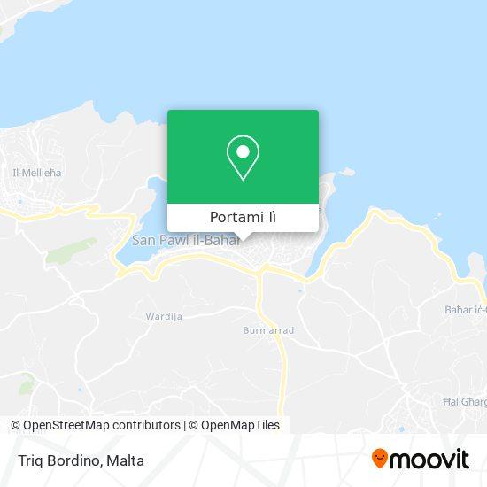 Mappa Triq Bordino