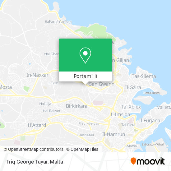 Mappa Triq George Tayar