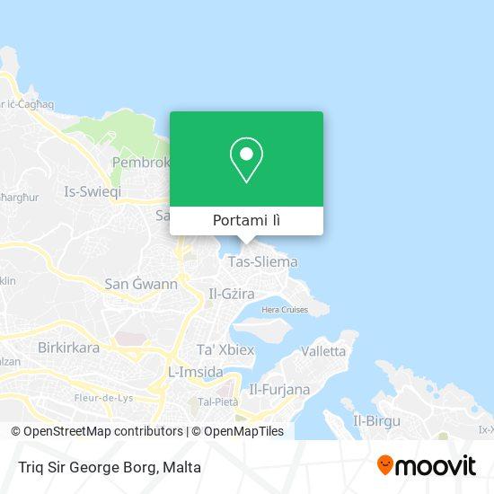Mappa Triq Sir George Borg