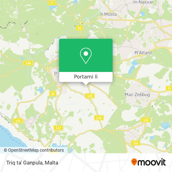 Mappa Triq ta' Ganpula
