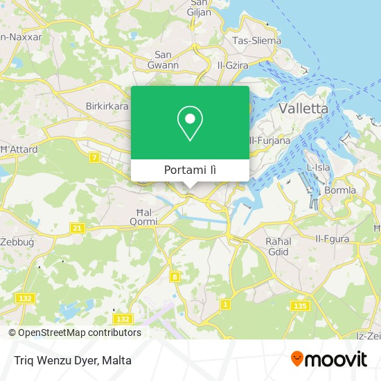 Mappa Triq Wenzu Dyer
