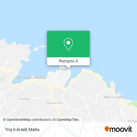 Mappa Triq il-Arzell