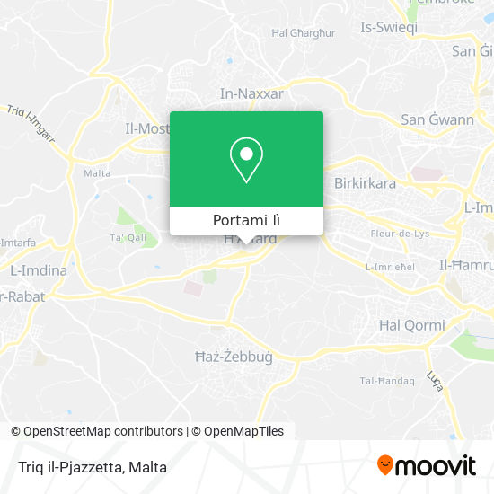 Mappa Triq il-Pjazzetta