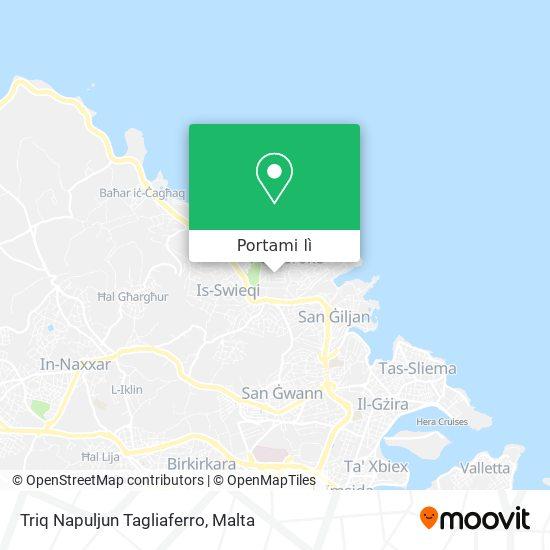 Mappa Triq Napuljun Tagliaferro