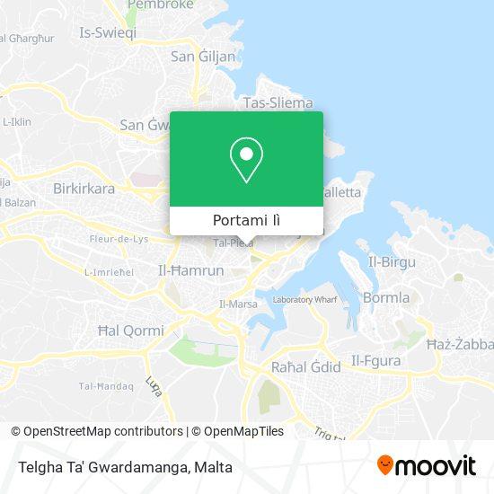 Mappa Telgha Ta' Gwardamanga