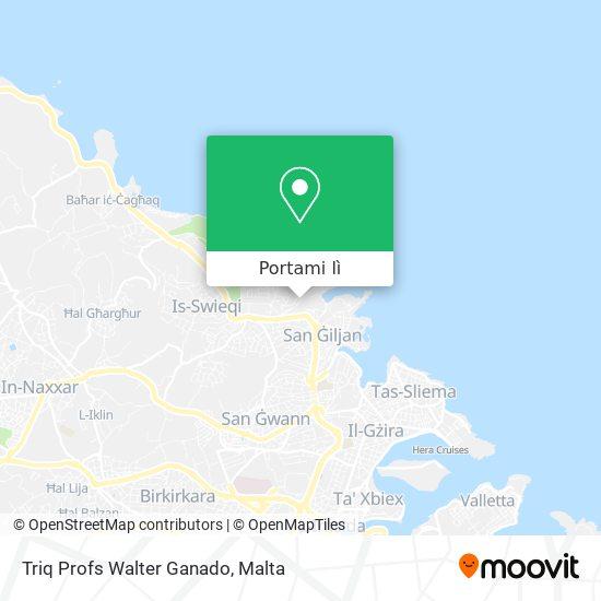 Mappa Triq Profs Walter Ganado
