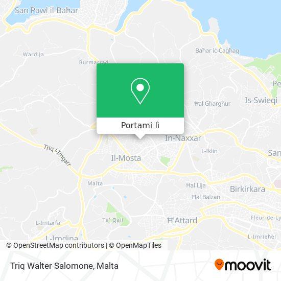 Mappa Triq Walter Salomone