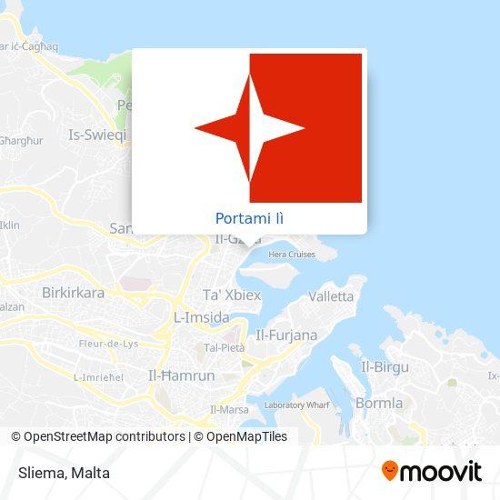 Mappa Sliema