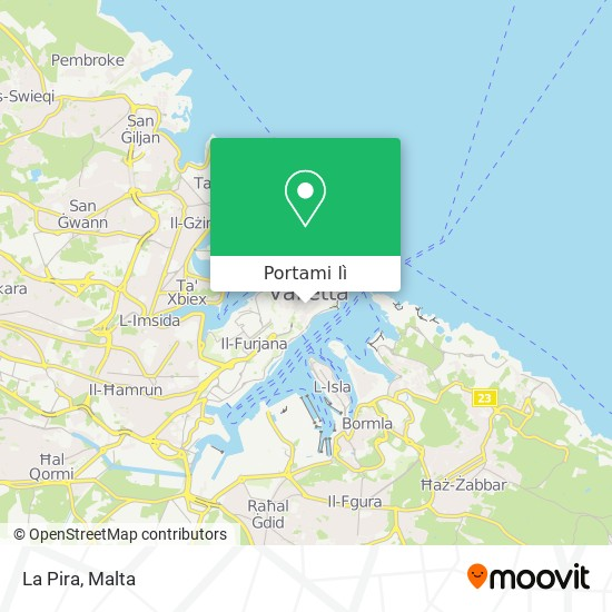 Mappa La Pira