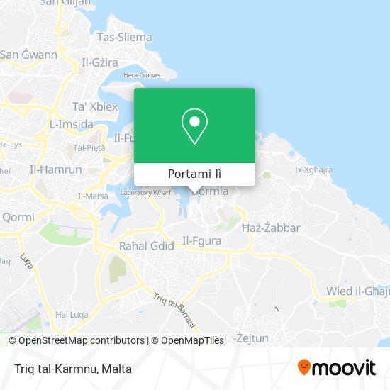 Mappa Triq tal-Karmnu