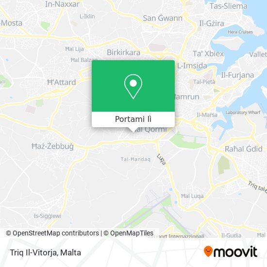 Mappa Triq Il-Vitorja
