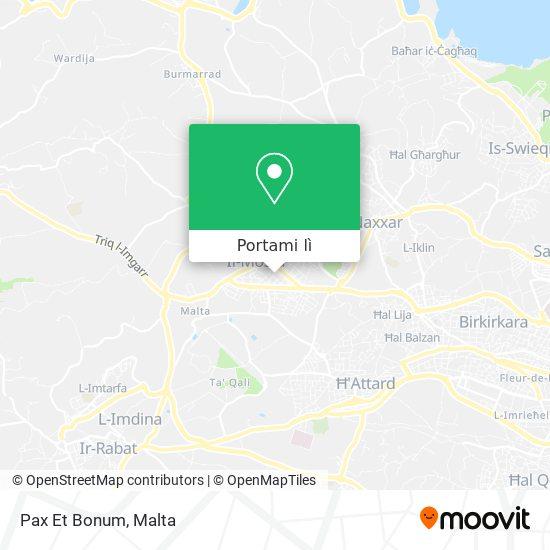 Mappa Pax Et Bonum