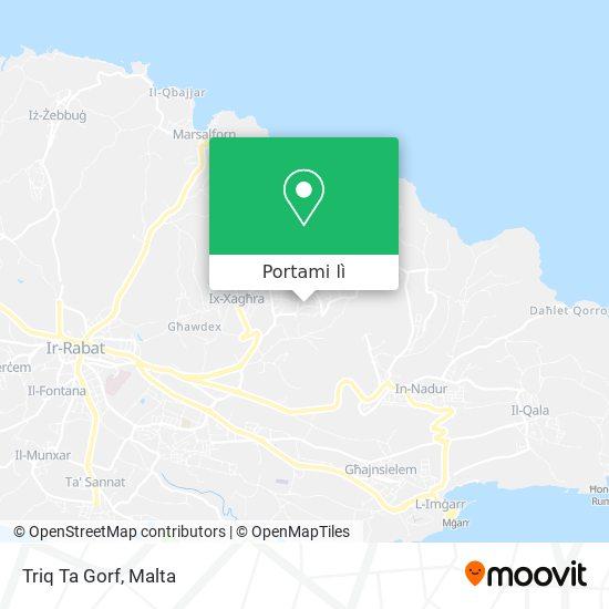 Mappa Triq Ta Gorf