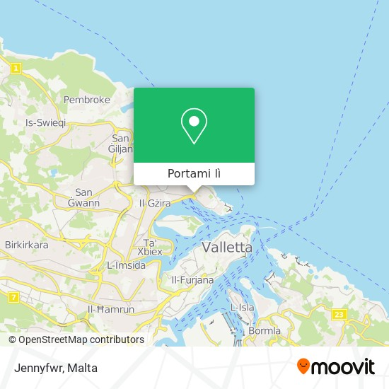 Mappa Jennyfwr