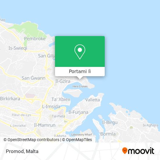 Mappa Promod