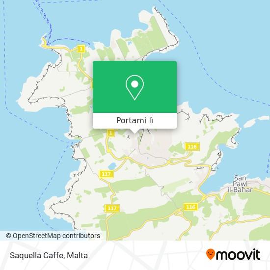Mappa Saquella Caffe