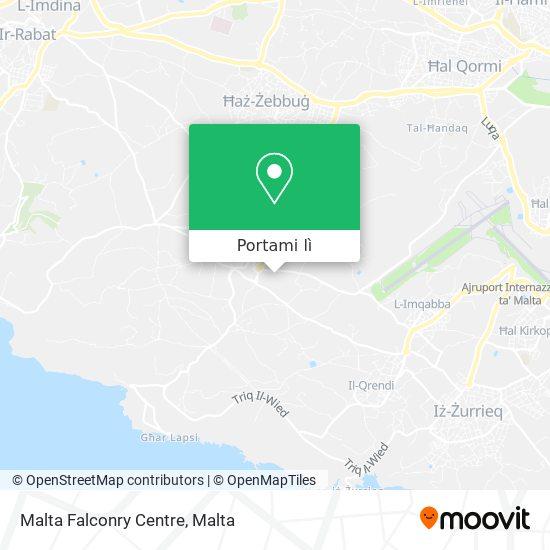 Mappa Malta Falconry Centre