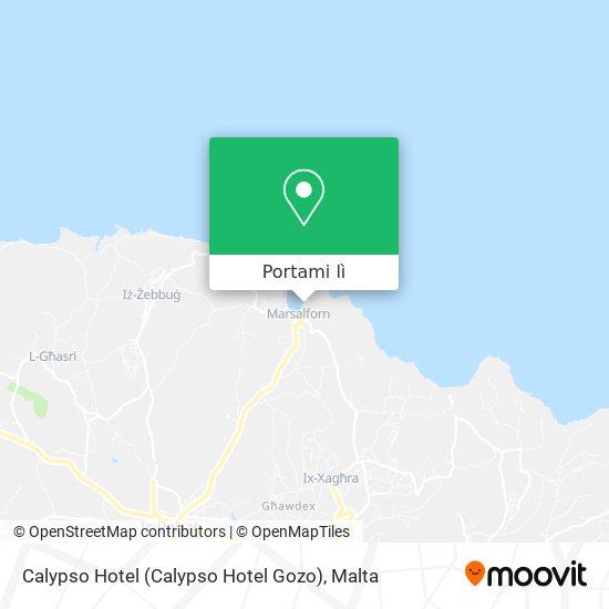 Mappa Calypso Hotel (Calypso Hotel Gozo)