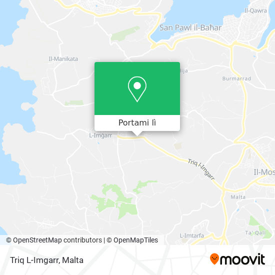 Mappa Triq L-Imgarr