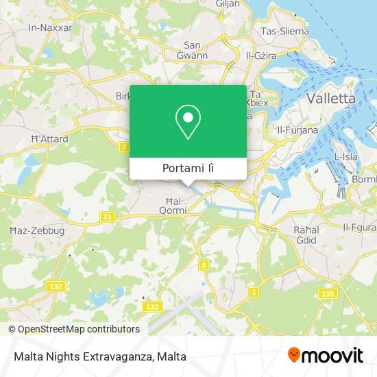 Mappa Malta Nights Extravaganza